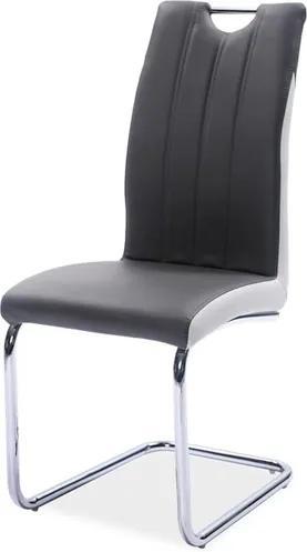 Najlacnejsinabytok H-342 jedálenská stolička, šedá