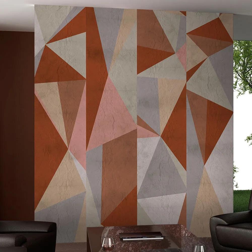 Fototapeta - Triangles - composition 50x1000