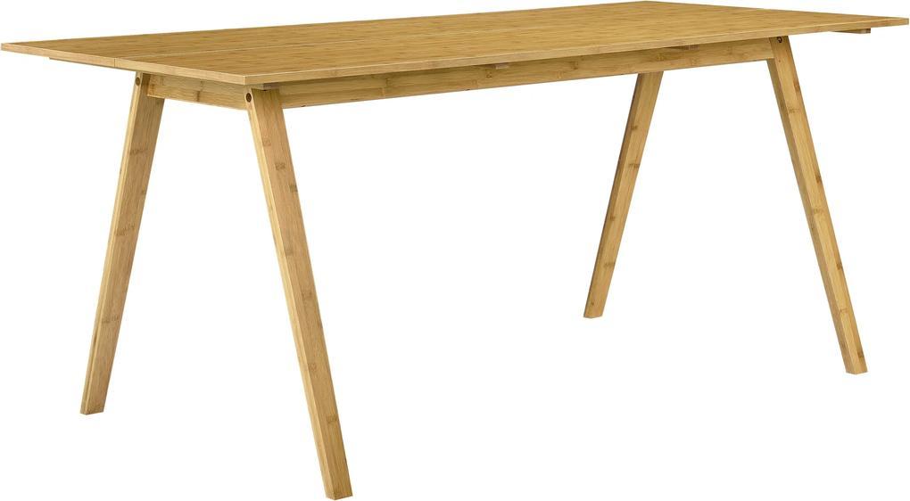 """[en.casa] Jedálenský stôl """"Niko"""" HTNT-4301 - 180 x 80 cm, bambus"""
