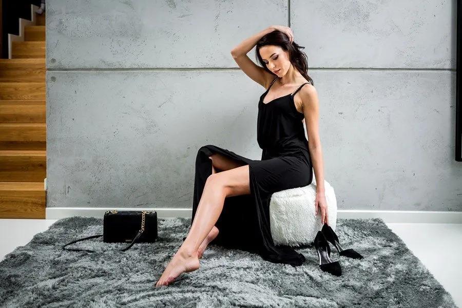 MAXMAX Plyšový koberec ŠEDÝ obdĺžnikový Dlhý vlas (SHAGGY) šedá