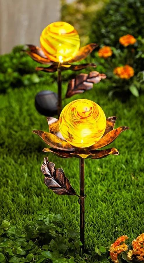 Weltbild Solární zápich Květiny, 2 ks