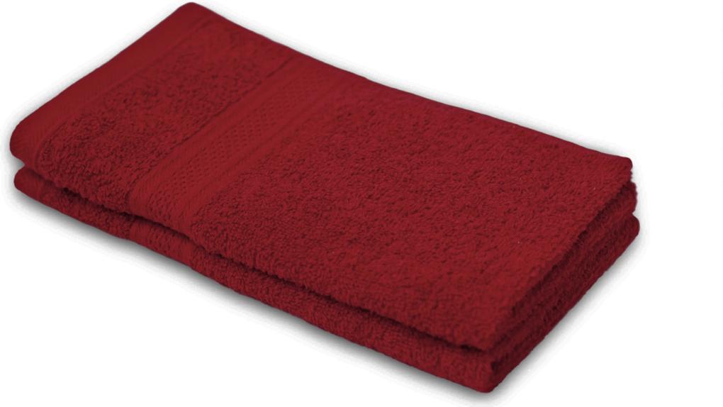 Detský uterák BAMBI bordový 30x50 cm