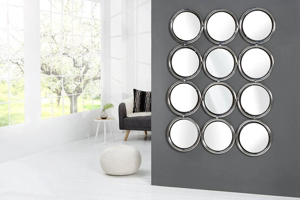 Dizajnové nástenné zrkadlo Alexa