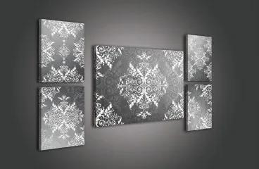 Obraz na plátne viacdielny - OB2924 - Ornament 126cm x 65cm - S14