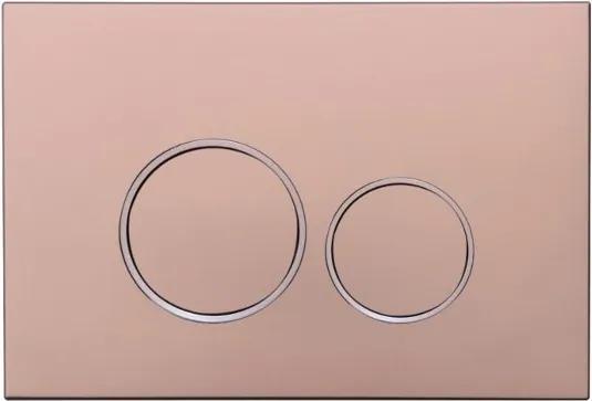 MEXEN FENIX 05 - TLAČIDLO PRE MEXEN MODUL, Ružová zlatá - 600505