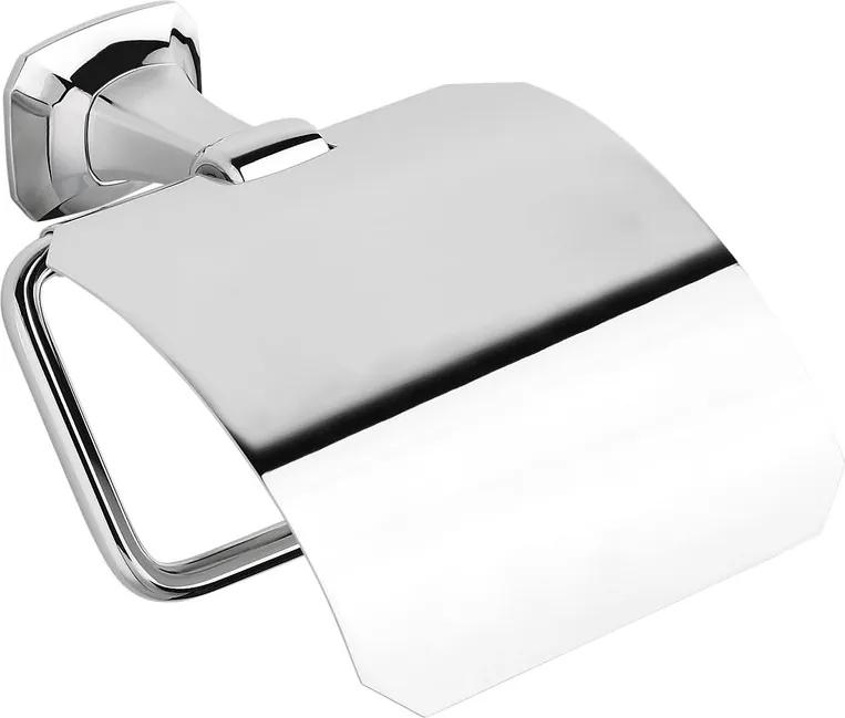 Aida AI007 držiak toaletného papiera s krytom, chróm