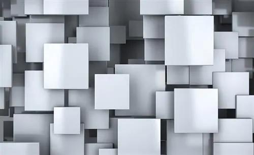 Vliesové fototapety, rozmer 416 x 254 cm, 3D štvorce, IMPOL TRADE 2810 VO XXXL