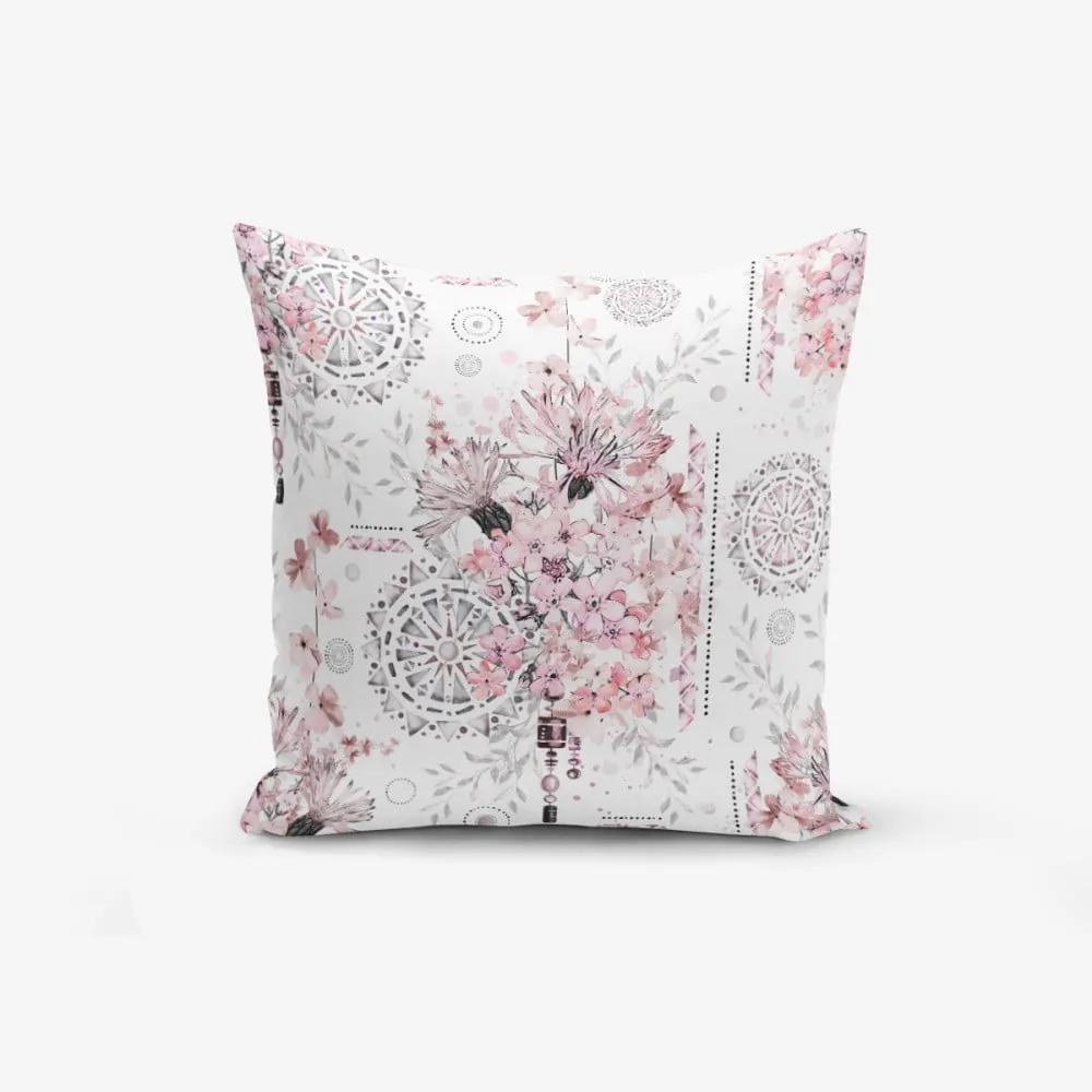 Obliečka na vankúš s prímesou bavlny Minimalist Cushion Covers Powder Colour Working Theme, 45 × 45 cm