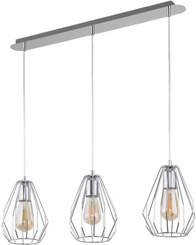 TK Lighting BRYLANT SILVER 2809