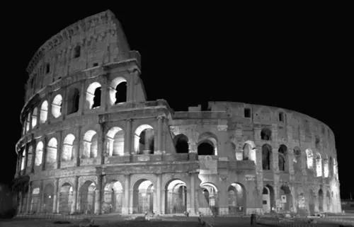 Luxusné vliesové fototapety, rozmer 418,5 cm x 270 cm, Rím, P+S International CL35B