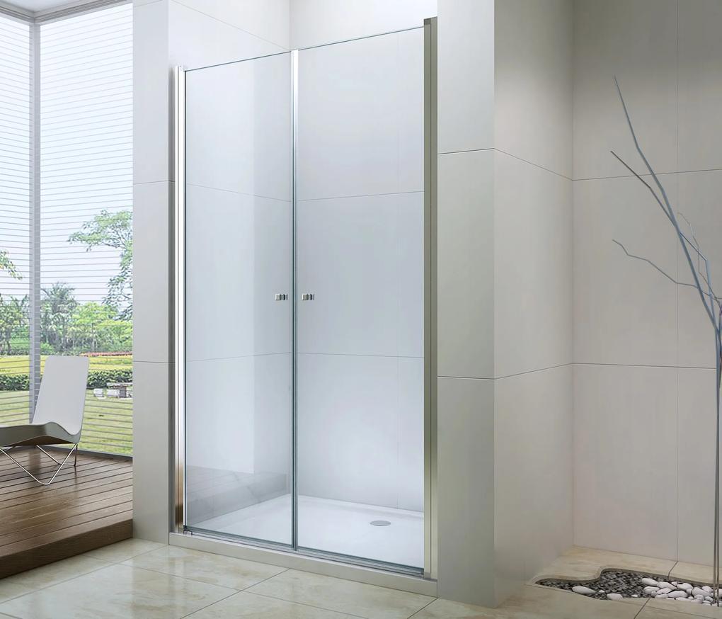 MAXMAX Sprchové dvere tekst 100 cm