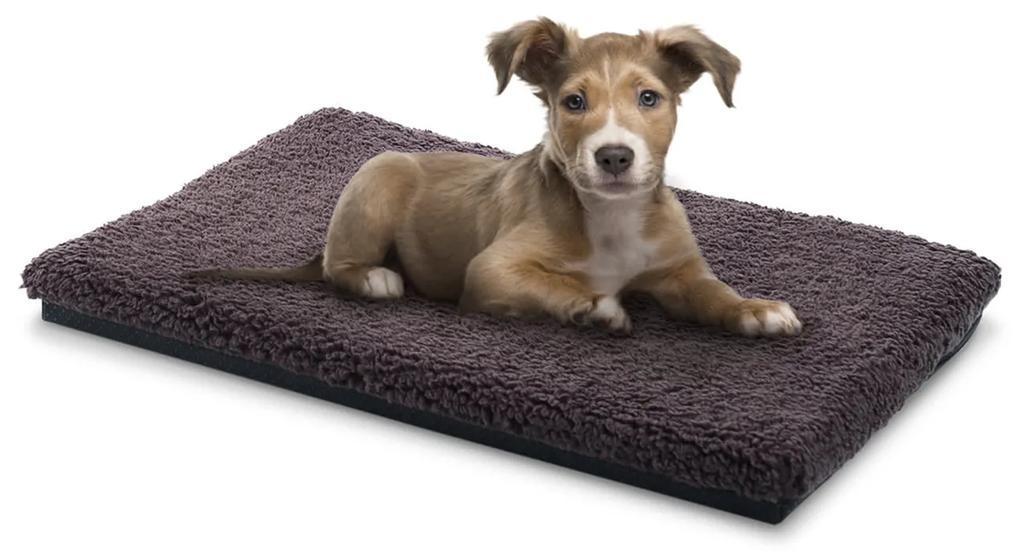 Luna, pelech pre psa, psia podložka, prateľný, ortopedický, protišmykový, priedušný, pamäťová pena, veľkosť S (60 x 5 x 40 cm)
