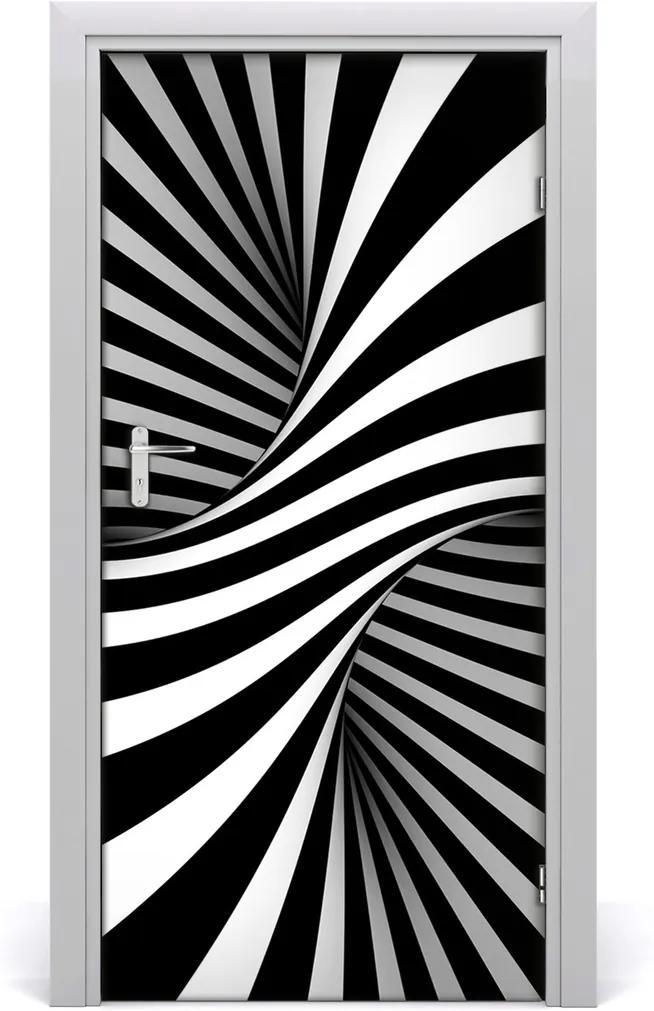 Samolepící fototapeta na dveře Abstrakce vír