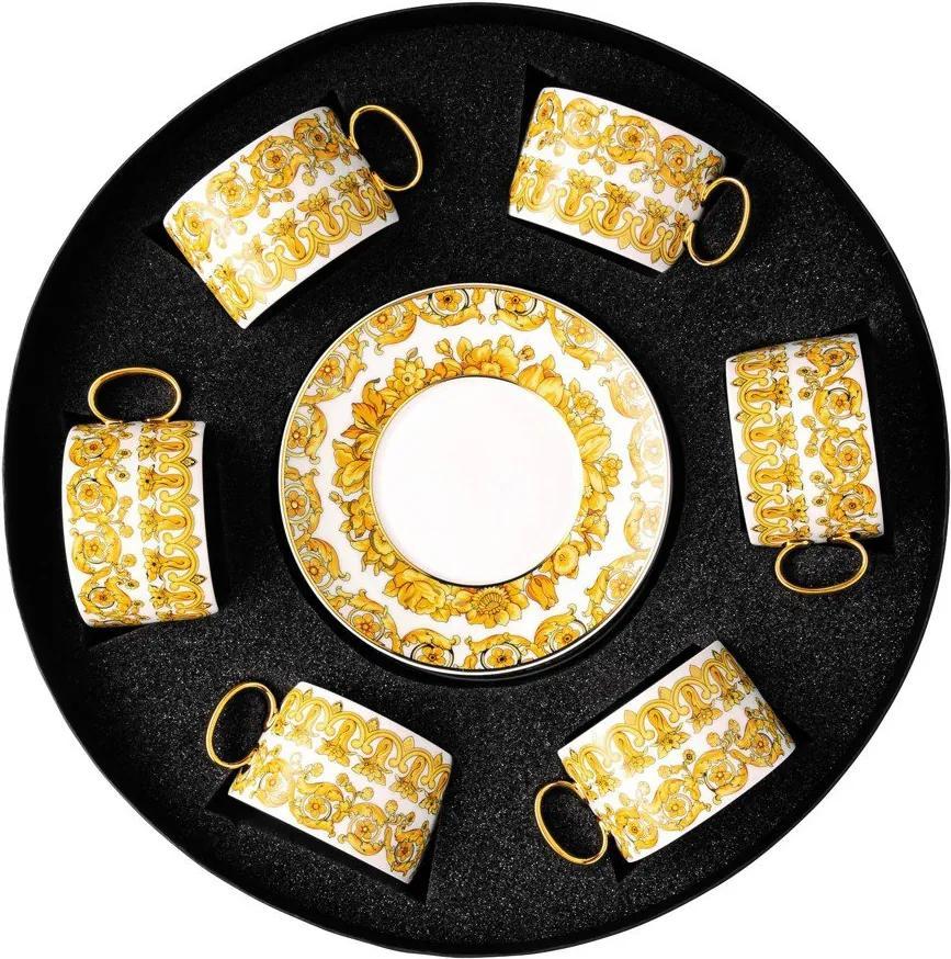 d061e71bd Rosenthal darčekový servis šálok na čaj s tanierikmi Versace Medusa  Rhapsody ...