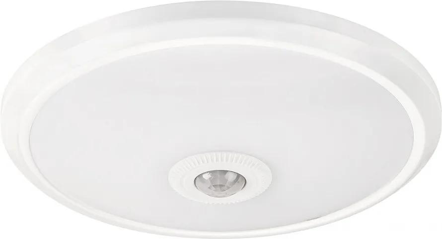 Rábalux Gabriel 2498 Stropné Svietidlá s Čidlom pohyb biely biely LED 12W 6,5 x 28,5 x 28,5 cm