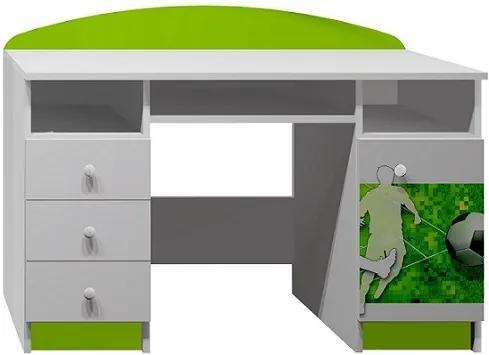 MAXMAX Písací stôl futbalistov s LOPTOU - TYP B