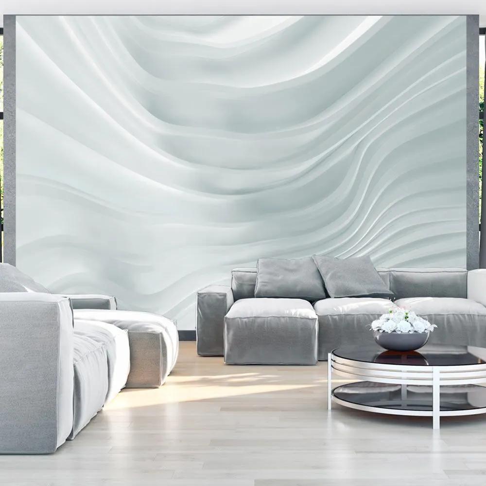 Fototapeta - Waving White 400x280