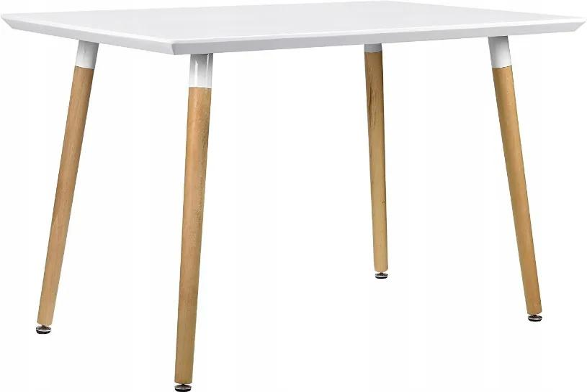 Bestent Jedálenský stôl WHITE MODERN 120 x 80 CM