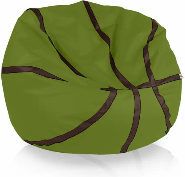 Sedací vak Basketbal zelené jablko