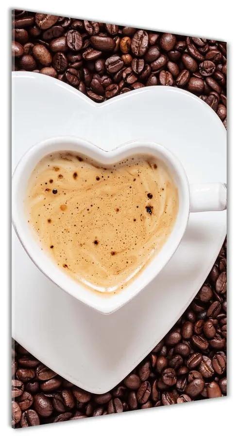 Foto obraz akryl do obývačky Hrnček kávy pl-oa-70x140-f-90147688
