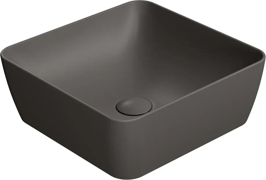 Sand 903816 umývadlo na dosku 38x38 cm, bistro mat