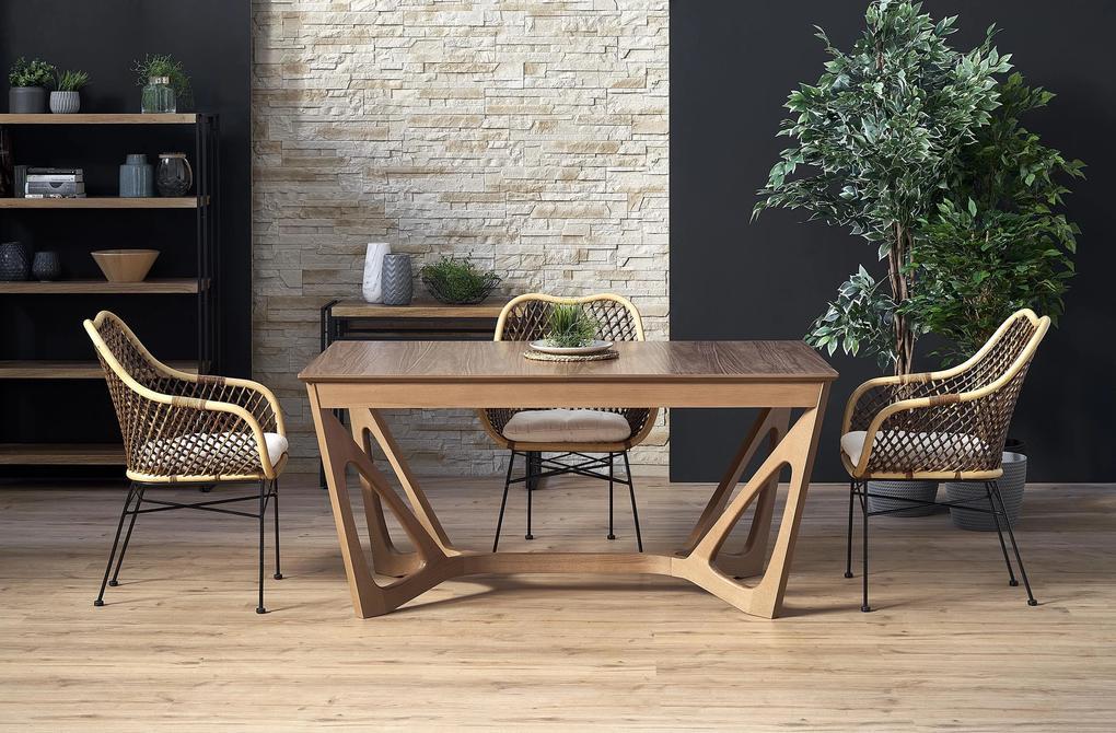 Jedálenský stôl Wales, orech