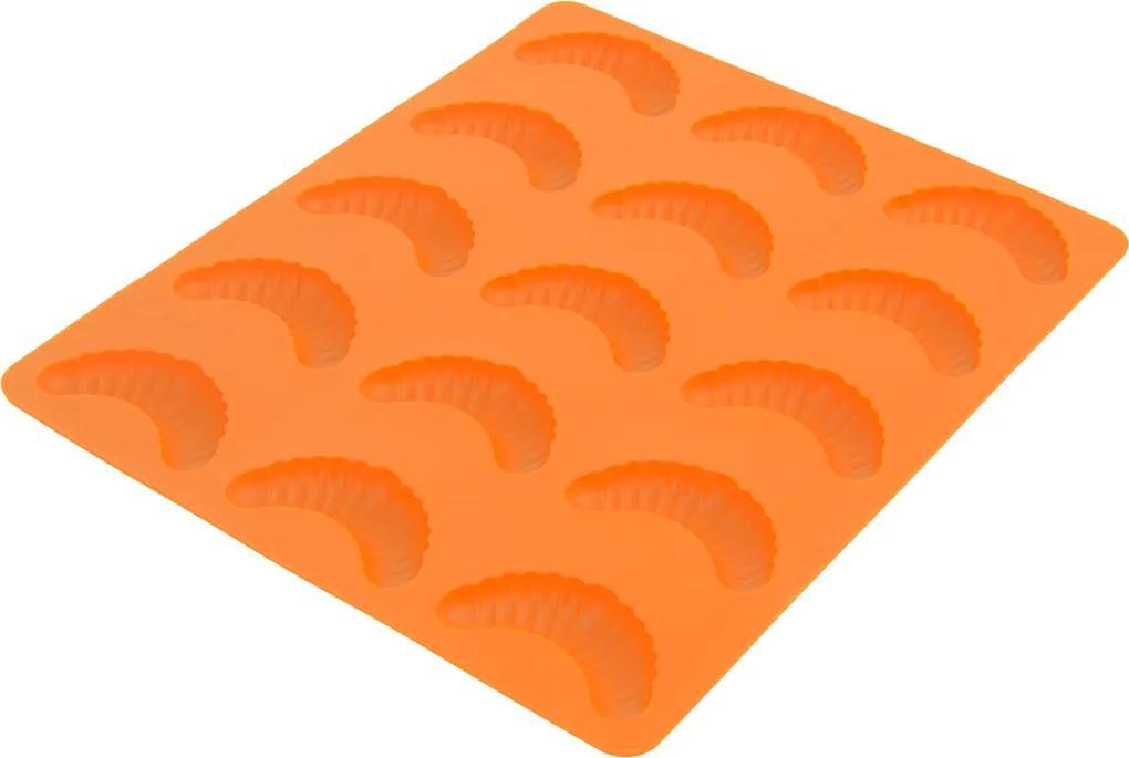 Forma silikónová Rožteky 15 ks oranžová