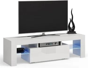 Stolík pod televízor DEKO 140 cm biely