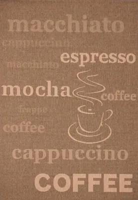 Lalee koberce Kusový koberec Finca FIN 510 coffee - 60x110 cm