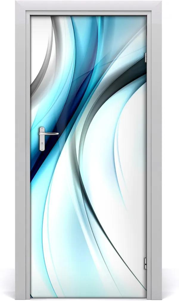 Samolepící fototapeta na dveře Abstrakce vlna