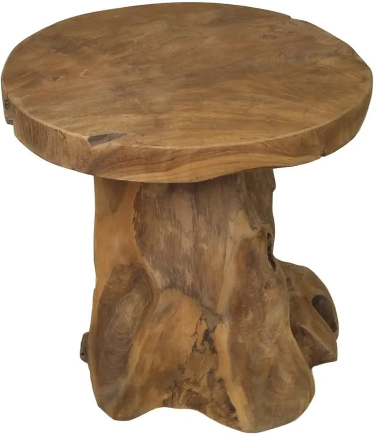 Odkladací stolík z teakového dreva HSM collection Kruk Root
