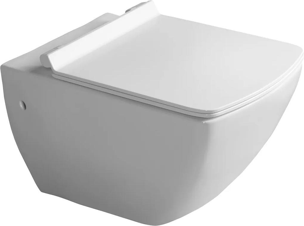 Isvea Purity 10PL02007 WC závesné 35x55,5cm