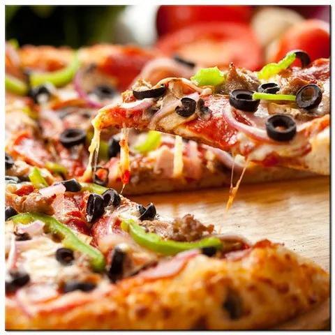 Tlačený obraz Chutná pizza 2037A_1AI