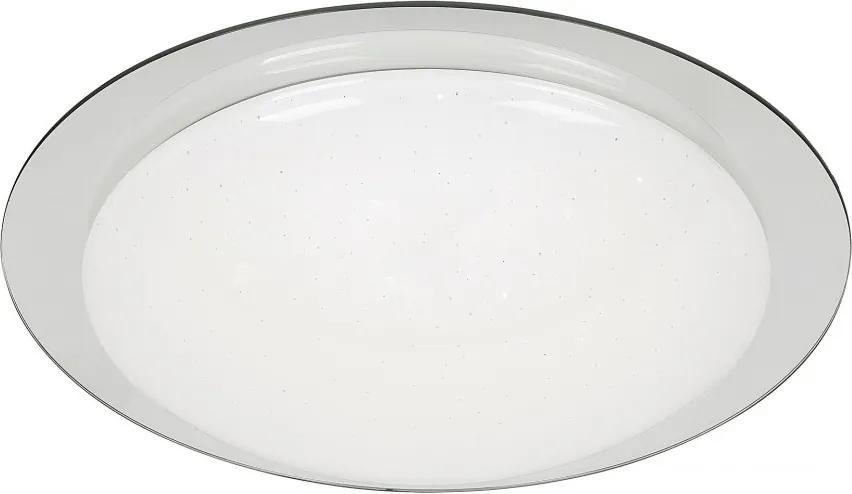 Rábalux 2490 Stropné Svietidlá chróm biely LED 12W Ø380 mm