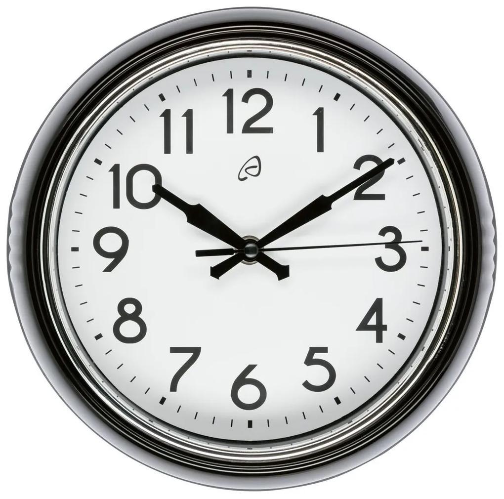 AURIOL® Retro nástenné hodiny (čierna), čierna (100309562)