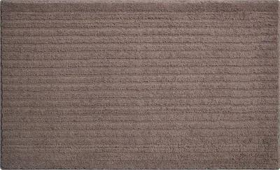 Grund Kúpeľňová predložka Riffle, kakaová, 60x100 cm