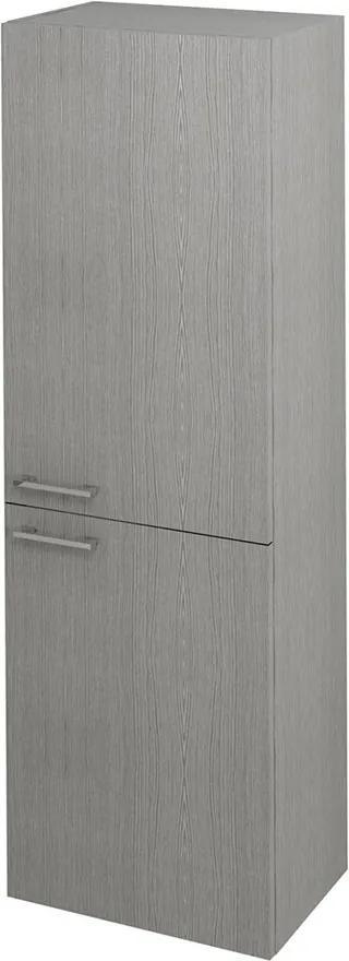 Espace ESP451LP skrinka 50x172x32 cm, 2x dvierka, ľavá/pravá, dub strieborný