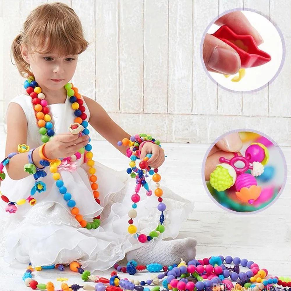 B2B Detské farebné korálky