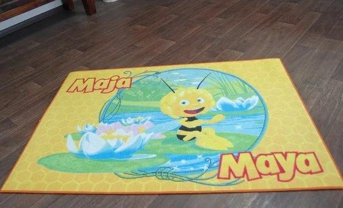 MAXMAX Detský koberec VČIELKA MÁJA 3