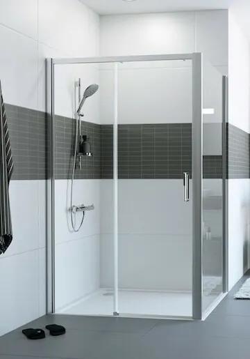 Sprchové dvere 110x200 cm levá Huppe Classics 2 chróm lesklý C25302.069.322