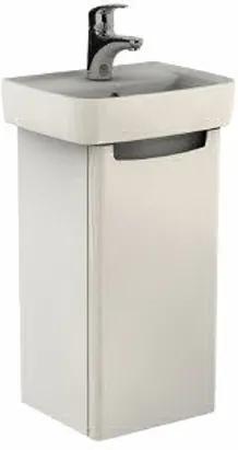 Kúpeľňová skrinka pod umývadlo KOLO Rekord 32,5x59,1x28,5 cm biela lesk 89541000