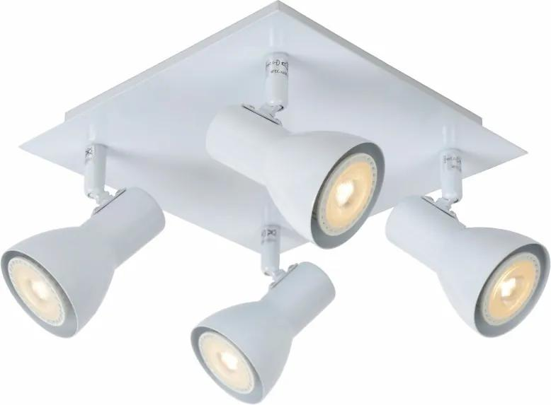LED stropné svietidlo bodové Lucide LAURA-LED 4x5W GU10