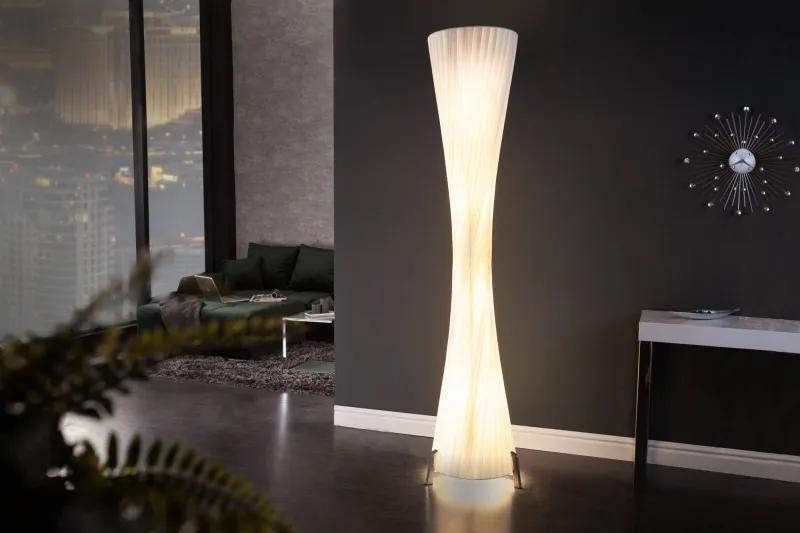 Stojacia lampa Paris 200cm biela