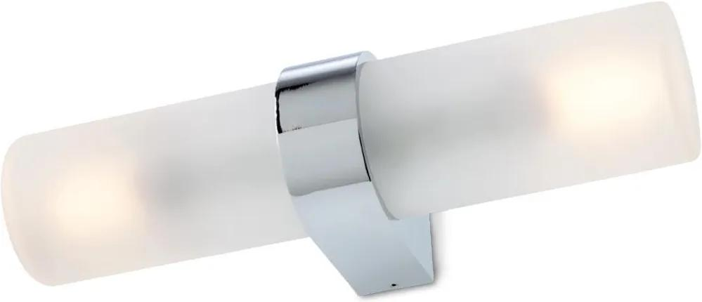 Kúpeľňové svietidlo REDO ASKER BIELA CHRÓM 01-554
