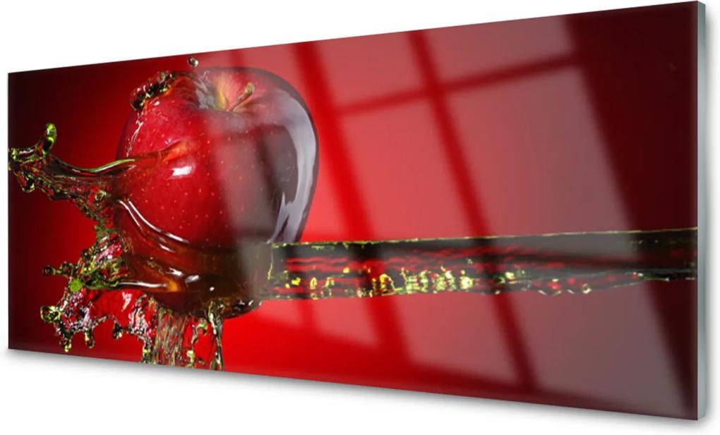 Akrylové obraz Jablko voda kuchyně