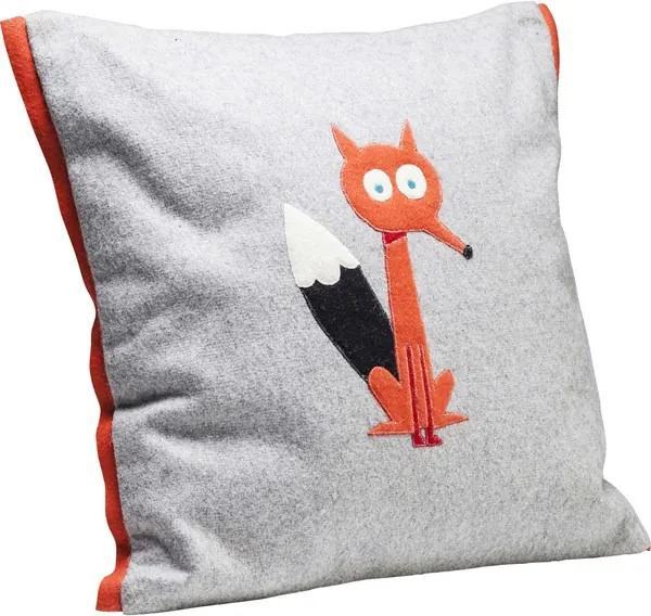 KARE DESIGN Sada 2 ks − Vankúš Fairytale Fox 40 × 40 cm