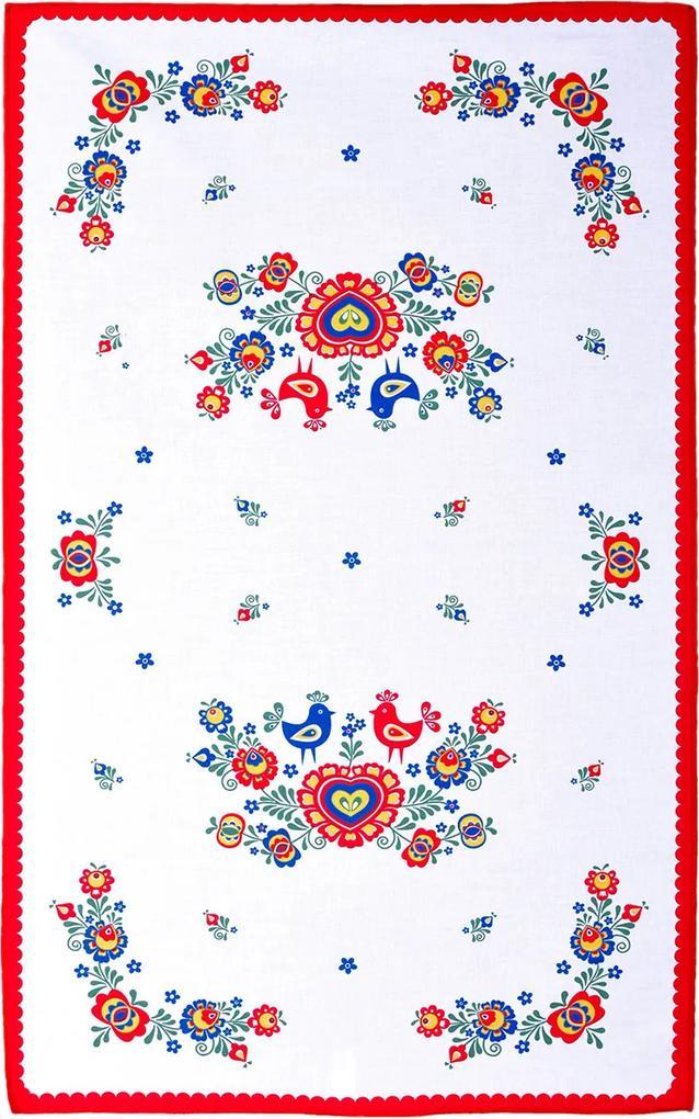 FORBYT Utierka Folklór červená, 45 x 70 cm