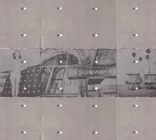 Luxusné vliesové fototapety, rozmer 300 cm x 270 cm, Vintage, P+S International NT6332028
