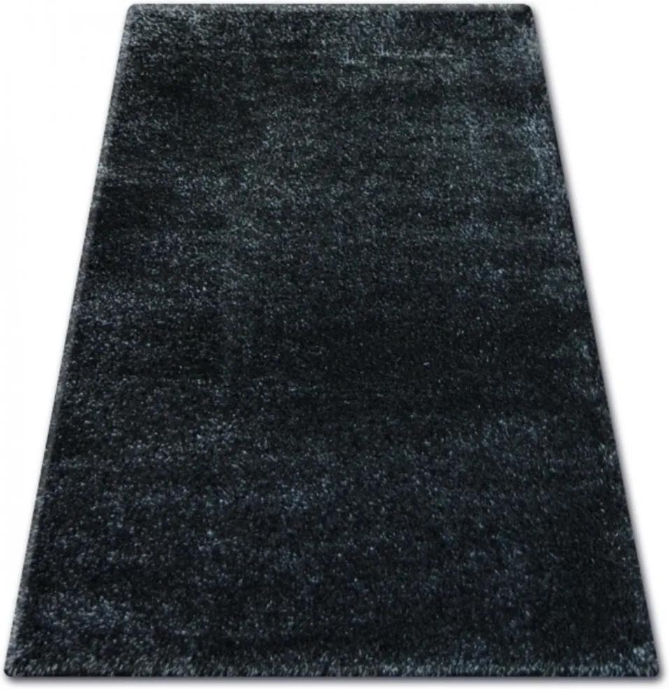 Kusový koberec Shaggy Narin čierny, Velikosti 80x150cm