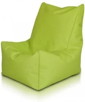 Ecopuf Sedací vak ECOPUF - SOLID - polyester NC1 - Svetlo zelená